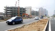 Hình ảnh đoạn đường Lê Văn Lương kéo dài bị sạt lở đã thông xe trở lại