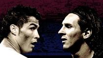 Messi ghi 5 bàn khiến Ronaldo... sung sướng