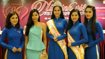 """Khởi động cuộc thi """"Nữ sinh viên Việt Nam duyên dáng 2015"""""""