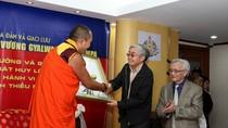 Đức Nhiếp Chính Vương Gyalwa Dokhampa tham gia tọa đàm Doanh nhân và Hạnh phúc