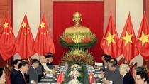 Tổng Bí thư Nguyễn Phú Trọng hội đàm với Chủ tịch Trung Quốc Tập Cận Bình