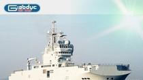 Khám phá chiến hạm chỉ huy Tonnerre của Pháp vừa cập cảng Cam Ranh