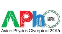 Cả 8 học sinh Việt Nam dự thi Olympic Vật lý châu Á năm 2016 đều đoạt giải