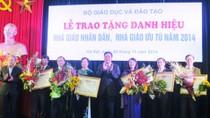 Hà Nội thăm dò dư luận để xét tặng danh hiệu cho 10 nhà giáo