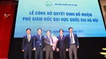 Ông Nguyễn Hồng Sơn làm Phó Giám đốc Đại học Quốc gia Hà Nội