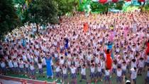 Ảnh: Tiệc khai giảng nhiều màu sắc của trường Tiểu học Lê Quý Đôn