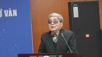 Giáo sư Hà Minh Đức không đồng tình khi chỉ có 6 tác phẩm bắt buộc ở môn Văn