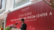 VINGROUP khai trương TTTM đẳng cấp bậc nhất Việt Nam