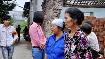 Vụ sụt lún ở Quốc Oai: Người dân lo lắng nhìn nhà bị nứt gãy từng ngày