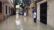 Sở Xây dựng yêu cầu Công ty Thoát nước, UBND quận Cầu Giấy giải quyết úng ngập