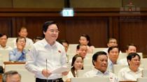 Quan điểm mới nhất của Bộ trưởng Nhạ trước quốc hội về xóa biên chế giáo viên
