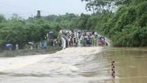 Khẩn trương ứng phó mưa lũ tại các tỉnh Bắc Bộ