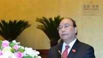Thủ tướng Chính phủ cùng 4 trưởng ngành trả lời chất vấn trước Quốc hội