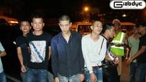 Đặc nhiệm 141 bắt xế hộp, thu súng K59 cùng nhiều xe trộm cắp