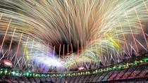 Lung linh màn pháo hoa tạm biệt Olympic London 2012