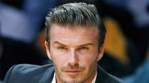 Beckham lịch lãm như tài tử điện ảnh đi xem bóng rổ