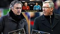 Đối đầu Ferguson - Mourinho: 15 trận Sir Alex mới thắng 2 lần