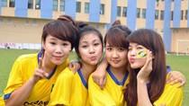 Top 10 Miss Nghệ 'đại náo' sân tập Sông Lam Nghệ An