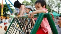 UBND Quận Cầu Giấy – Hà Nội: Quan tâm tạo sân chơi cho trẻ em