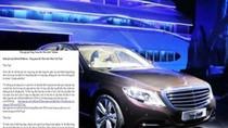 Sự cố xe Mercedes S500 và sự im lặng khó hiểu của Mercedes-Benz VN