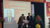 Trao giải thưởng dinh dưỡng Vinutas–Dutch Lady 2016 cho cố PGS-BS Trương Bút