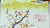 Bộ lịch block Đinh Dậu 2017 VietinBank: Thay lời tri ân tới khách hàng