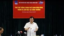 Phó Thủ tướng Trịnh Đình Dũng kiểm tra tiến độ Dự án Long Phú 1 và Sông Hậu 1