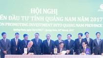 Ký kết hợp tác khai thác dầu khí giữa PVN - Exxon Mobil - tỉnh Quảng Nam