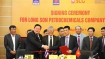 Tập đoàn Dầu khí quốc gia ký nhiều văn kiện liên quan tới dự án hóa dầu Long Sơn