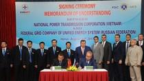 Tổng công ty Truyền tải điện Quốc gia ký thỏa thuận hợp tác với đối tác từ Nga