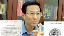 Thứ trưởng Cao Minh Quang đề nghị làm rõ việc lộ tin mật
