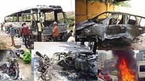 """Chuyên gia giám định """"mổ phanh"""" kết luận nguyên nhân cháy, nổ xe"""