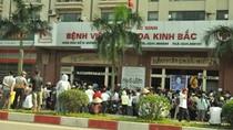 Vụ đào huyệt trong bệnh viện: Khởi tố vụ án gây rối trật tự công cộng