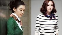 Nàng công sở mặc đẹp: Cách những quý cô làm điệu bằng khăn