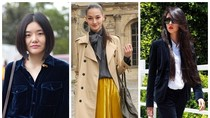Nàng công sở mặc đẹp: Dùng nhung khoe đẳng cấp