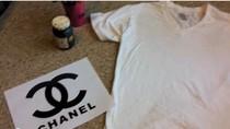 Nhật ký tỉ mẩn và lọ mọ: Làm sao in biểu tượng Channel lên áo phông?