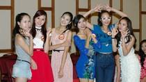 Chùm ảnh: 'Đột nhập' phòng tập các người đẹp hoa hậu Việt Nam
