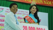 'Trước khi thi Hoa hậu, lấy lý do gì để đặc cách'