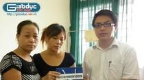 Báo Giáo dục Việt Nam chia sẻ, động viên cháu H cùng gia đình