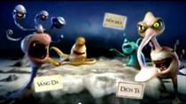 """Chùm ảnh: Ghê rợn với những loài """"quái vật"""" trong clip quảng cáo Vim"""