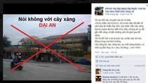 """Cây xăng Đại An ở Hà Đông bị khách hàng """"ném đá"""" vì nghi gian lận"""