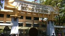 Thanh tra Bộ GD&ĐT vào cuộc vụ tố lạm thu ở trường Hùng Vương