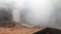Nổ xưởng thuốc trừ sâu rung chuyển kinh hoàng giữa Sài Gòn