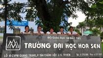 Ngành giáo dục TP.HCM công  bố lý do chưa duyệt HĐQT trường Hoa Sen