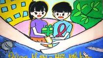"""Thi """"Viết và vẽ về Bảo vệ và Chăm sóc trẻ em có hoàn cảnh đặc biệt"""""""