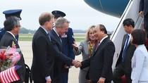 Hình ảnh lễ đón Thủ tướng tại Sân bay St. Andrews, Washington, Hoa Kỳ