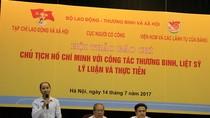 """Hội thảo báo chí """"Chủ tịch Hồ Chí Minh với công tác thương binh, liệt sỹ"""""""