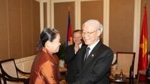 Phát triển bền vững tình đoàn kết Campuchia - Việt Nam