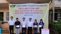 EVNNPT chung tay cùng đồng bào huyện Mù Cang Chải khắc phục thiệt hại do mưa lũ