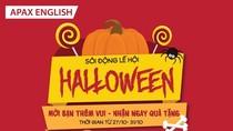 Sôi động lễ hội Halloween của Apax English